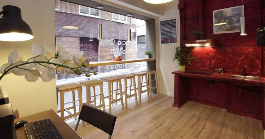 Make cheap reservations at a hotel like Gracia City Hostel